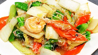 Seafood Delight Chinese Food